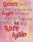 fell and roseagain