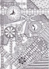 Steampunk Zentangles