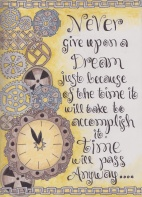time and dreams quote