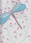 zentangle dragonfly