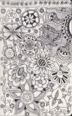 Zentangle Flowers
