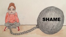 Ball of shame picture quote