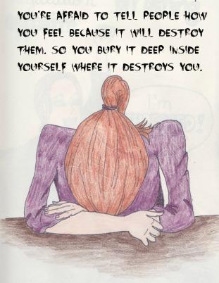 bury it quote