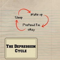 The depression cycle picture quote