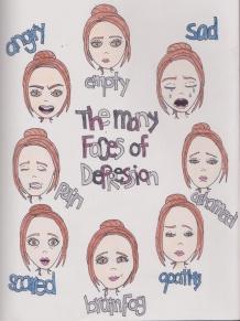 faces of depression