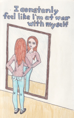 war with myself