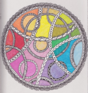 zen lace circle colour