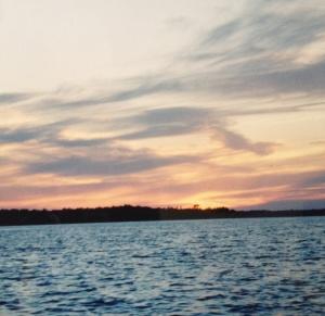 Balsam sunset