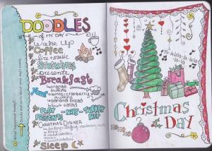 doodlediary christmas