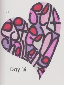 self esteem challenge day 16