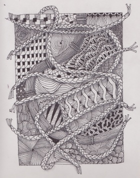 zentangle ropes