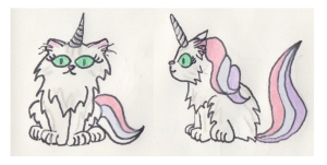 caticorn fwd and profile