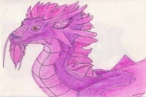 dragon pastel