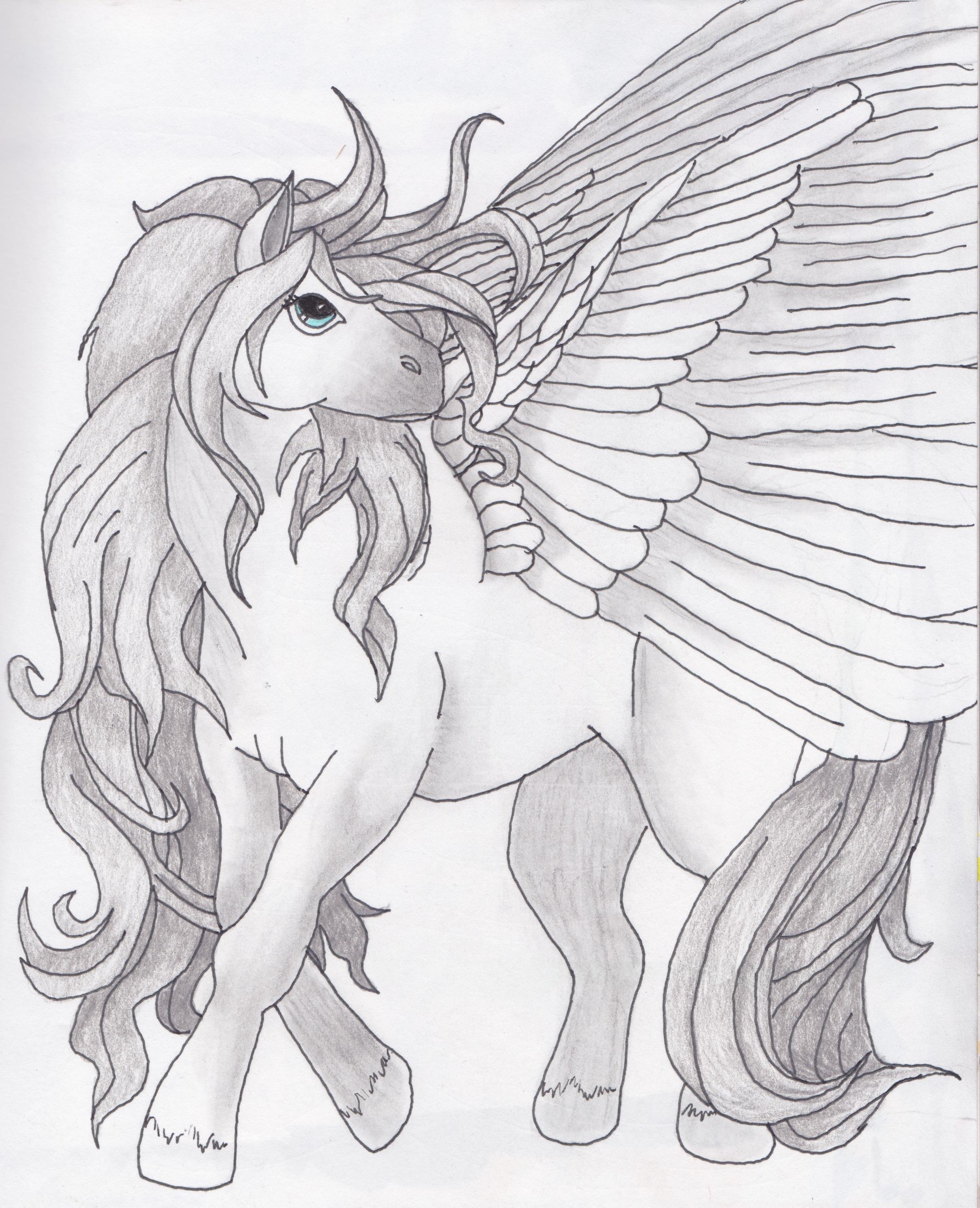 Pegasus Green White Legendary Creatures