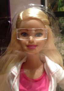 2015-11-01 Scientist Barbie goggles