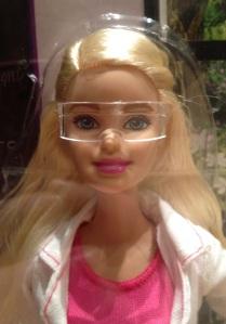 2015-11-01 Scientist Barbie goggles
